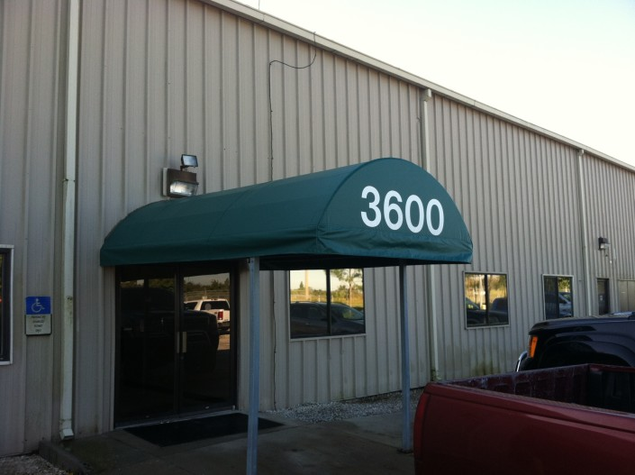 Bartow, Fl Entry Awning